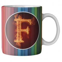 ماگ ماگستان مدل مدادرنگی حرف f (چند رنگ)