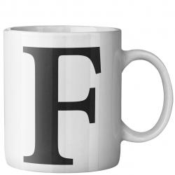 ماگ ماگستان مدل حرف F (سفید)