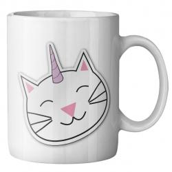 ماگ ماگستان مدل گربه فانتزی (سفید)