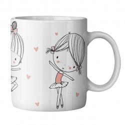 ماگ ماگستان مدل دختر رویایی 1111PM1232018 (سفید)