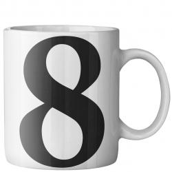 ماگ ماگستان مدل هشت 8 (سفید)