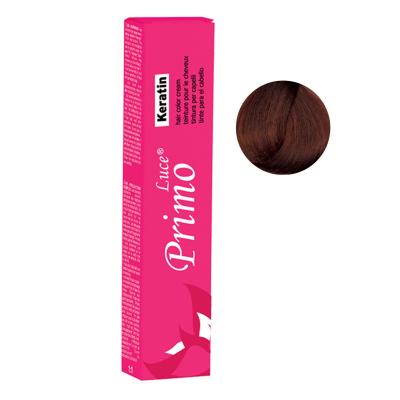رنگ موی پریمو لوسی سری Copper مدل Dark Copper Blonde شماره 6.4