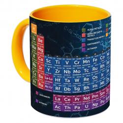 ماگ زیزیپ مدل جدول تناوبی 918Y (چند رنگ)