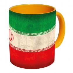 ماگ زیزیپ مدل پرچم ایران 309YM (چند رنگ)