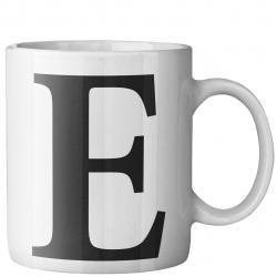 ماگ ماگستان مدل حرف E (سفید)