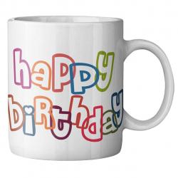 ماگ ماگستان مدل تولد مبارک (سفید)