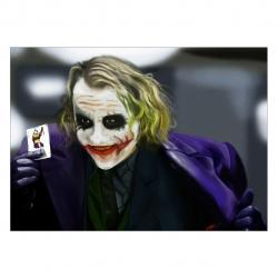 تابلو شاسی ونسونی طرح Joker Cock a Hoop سایز 50 × 70 سایز (50 × 70)