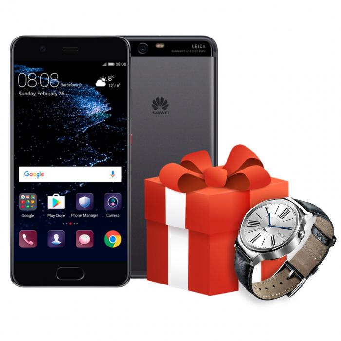گوشی موبایل هوآوی مدل P10 VTR-L29 دو سیم کارت به همراه ساعت هوشمند هوآوی