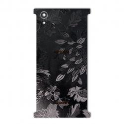 برچسب تزئینی ماهوت مدل Wild-flower Texture مناسب برای گوشی  Sony Xperia XA1 Plus