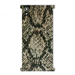 برچسب تزئینی ماهوت مدلJungle-python Texture مناسب برای گوشی  Sony Xperia XA1 Plus