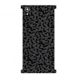برچسب تزئینی ماهوت مدل Silicon Texture مناسب برای گوشی  Sony Xperia XA1 Plus