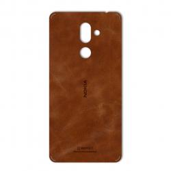 برچسب تزئینی ماهوت مدل Buffalo Leather مناسب برای گوشی Nokia 7 Plus