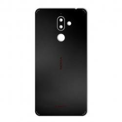 برچسب تزئینی ماهوت مدل Black-color-shades Special مناسب برای گوشی  Nokia 7 Plus