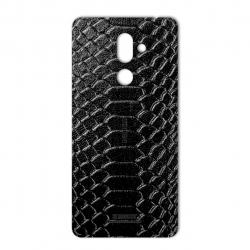 برچسب تزئینی ماهوت مدل Snake Leather مناسب برای گوشی  Nokia 7 Plus