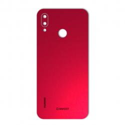برچسب تزئینی ماهوت مدلColor Special مناسب برای گوشی  Huawei Nova 3e (قرمز)