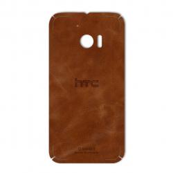 برچسب تزئینی ماهوت مدل Buffalo Leather مناسب برای گوشی HTC 10 (بی رنگ)