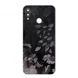 برچسب تزئینی ماهوت مدل Wild-flower Texture مناسب برای گوشی  Huawei Nova 3e (مشکی)