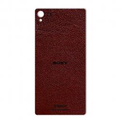 برچسب تزئینی ماهوت مدلNatural Leather مناسب برای گوشی  Sony Xperia Z3