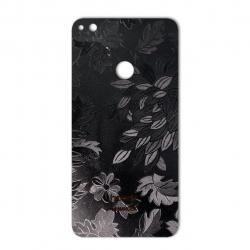 برچسب تزئینی ماهوت مدل Wild-flower Texture مناسب برای گوشی  Huawei Honor 8 Lite (مشکی)