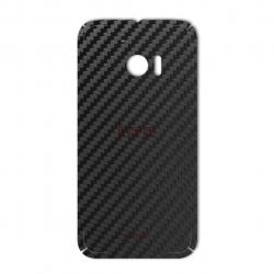 برچسب تزئینی ماهوت مدل Carbon-fiber Texture مناسب برای گوشی  HTC 10 (نقره ای)