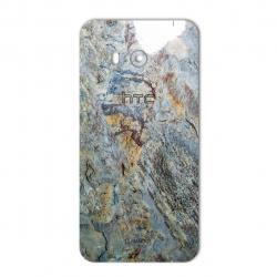 برچسب تزئینی ماهوت مدل Marble-vein-cut Special مناسب برای گوشی  HTC U11 (نسکافه ای)