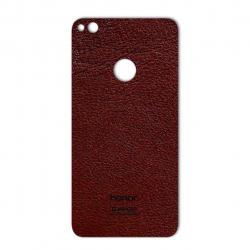 برچسب تزئینی ماهوت مدلNatural Leather مناسب برای گوشی  Huawei Honor 8 Lite (کرم)