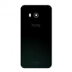 برچسب تزئینی ماهوت مدل Black-suede Special مناسب برای گوشی  HTC U11 (بی رنگ)