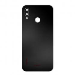 برچسب تزئینی ماهوت مدل Black-color-shades Special مناسب برای گوشی  Huawei Nova 3e (نقرهای مات)