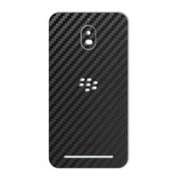 برچسب تزئینی ماهوت مدل Carbon-fiber Texture مناسب برای گوشی  BlackBerry Aurora (طلایی)
