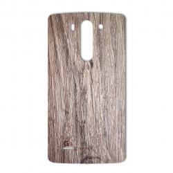 برچسب تزئینی ماهوت مدل Walnut Texture مناسب برای گوشی  G3 Beat (بی رنگ)