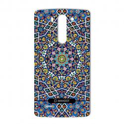 برچسب تزئینی ماهوت مدل Imam Reza shrine-tile Design مناسب برای گوشی  LG G3 Beat