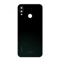 برچسب تزئینی ماهوت مدل Black-suede Special مناسب برای گوشی  Huawei Nova 3e
