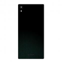 برچسب تزئینی ماهوت مدل Black-suede Special مناسب برای گوشی  Sony Xperia XA1 Ultra (بی رنگ)
