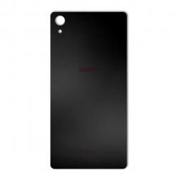 برچسب تزئینی ماهوت مدل Black-color-shades Special مناسب برای گوشی  Sony Xperia Z2 (مشکی مات)