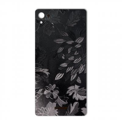 برچسب تزئینی ماهوت مدل Wild-flower Texture مناسب برای گوشی  Sony Xperia Z3 Plus (مشکی)