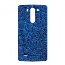 برچسب تزئینی ماهوت مدل Crocodile Leather مناسب برای گوشی  LG G3 Beat (سبز)