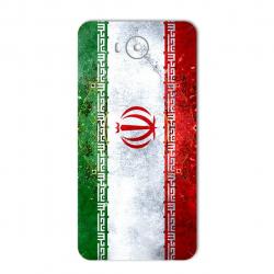 برچسب تزئینی ماهوت مدل IRAN-flag Design مناسب برای گوشی  Huawei Y5 2017 (بی رنگ)