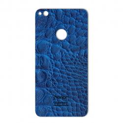 برچسب تزئینی ماهوت مدل Crocodile Leather مناسب برای گوشی  Huawei Honor 8 Lite (مشکی)