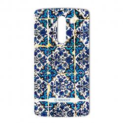 برچسب تزئینی ماهوت مدل Traditional-tile Design مناسب برای گوشی  LG G3 (بی رنگ)