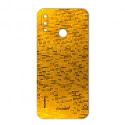 برچسب تزئینی ماهوت مدل  Gold-pixel Special مناسب برای گوشی Huawei Nova 3e (بی رنگ)