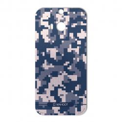 برچسب تزئینی ماهوت مدل Army-pixel Design مناسب برای گوشی HTC M8 (خاکستری)