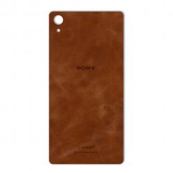 برچسب تزئینی ماهوت مدل Buffalo Leather مناسب برای گوشی Sony Xperia Z2