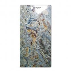 برچسب تزئینی ماهوت مدل Marble-vein-cut Special مناسب برای گوشی  Sony Xperia Z Ultra (سبز)