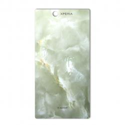 برچسب تزئینی ماهوت مدل Marble-light Special مناسب برای گوشی  Sony Xperia Z Ultra