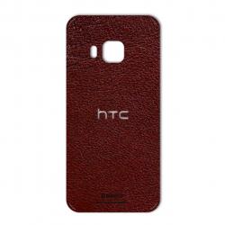 برچسب تزئینی ماهوت مدلNatural Leather مناسب برای گوشی  HTC M9 (سرمه ای)