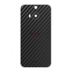 برچسب تزئینی ماهوت مدل Carbon-fiber Texture مناسب برای گوشی  HTC M9 Plus (مشکی)