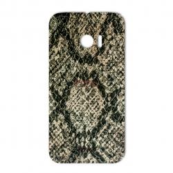 برچسب تزئینی ماهوت مدلJungle-python Texture مناسب برای گوشی  HTC 10
