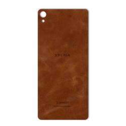 برچسب تزئینی ماهوت مدل Buffalo Leather مناسب برای گوشی Sony Xperia XA (بی رنگ)