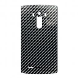 برچسب تزئینی ماهوت مدل Shine-carbon Special مناسب برای گوشی  LG G4 (قهوه ای)