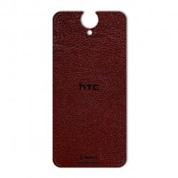 برچسب تزئینی ماهوت مدلNatural Leather مناسب برای گوشی  HTC E9 Plus (کرم)